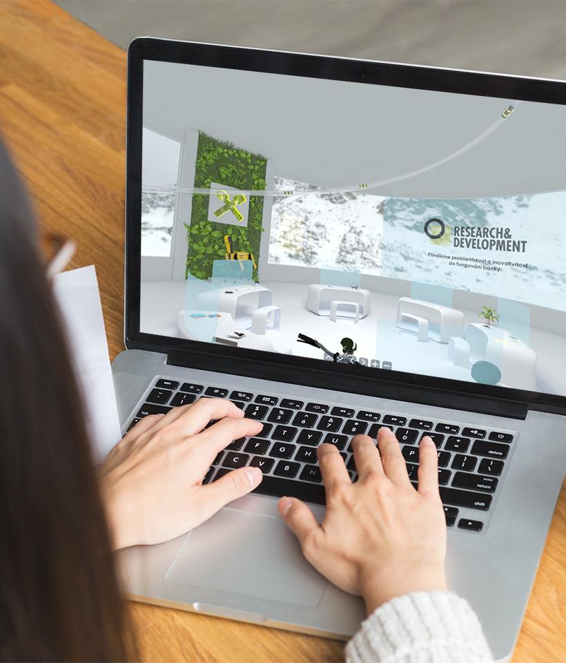 3D Visualization • Raiffeisenbank